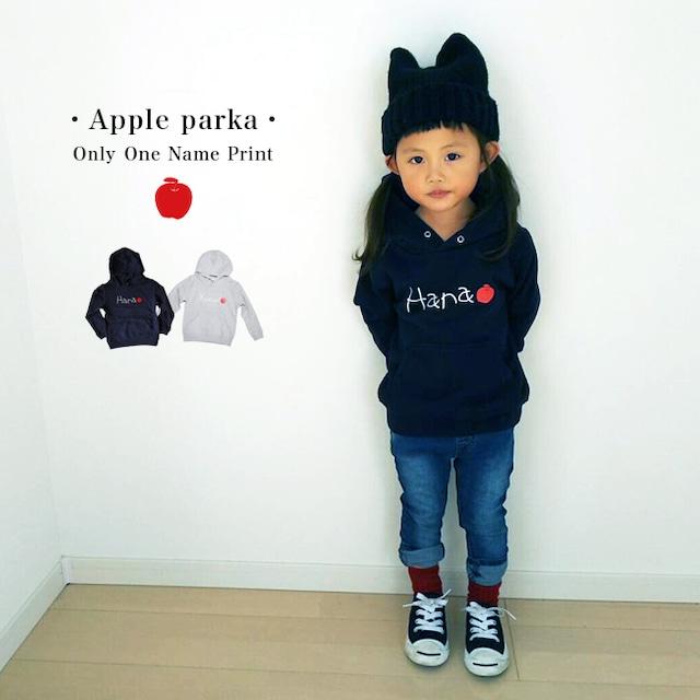 【名入れ】ORICLO オリクロ りんご パーカー