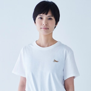 TEE SHIRT SPHINX PATCH WHITE for WOMAN