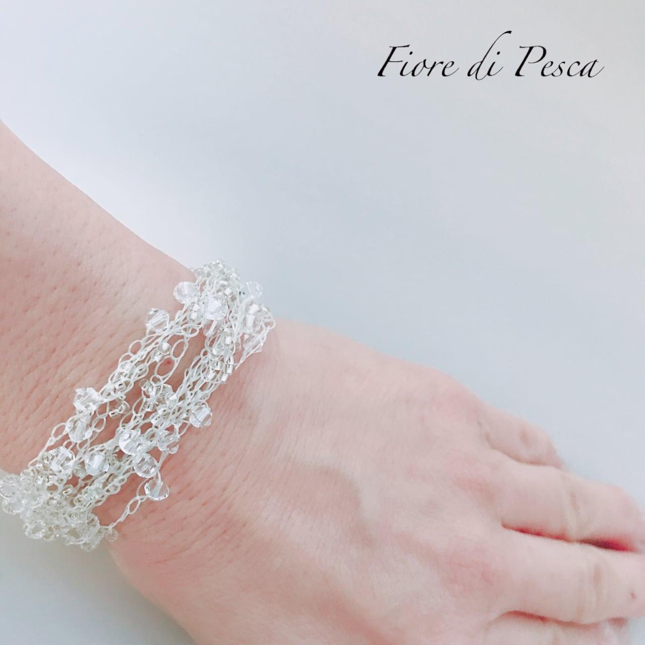 Croshet (white)Bracelet