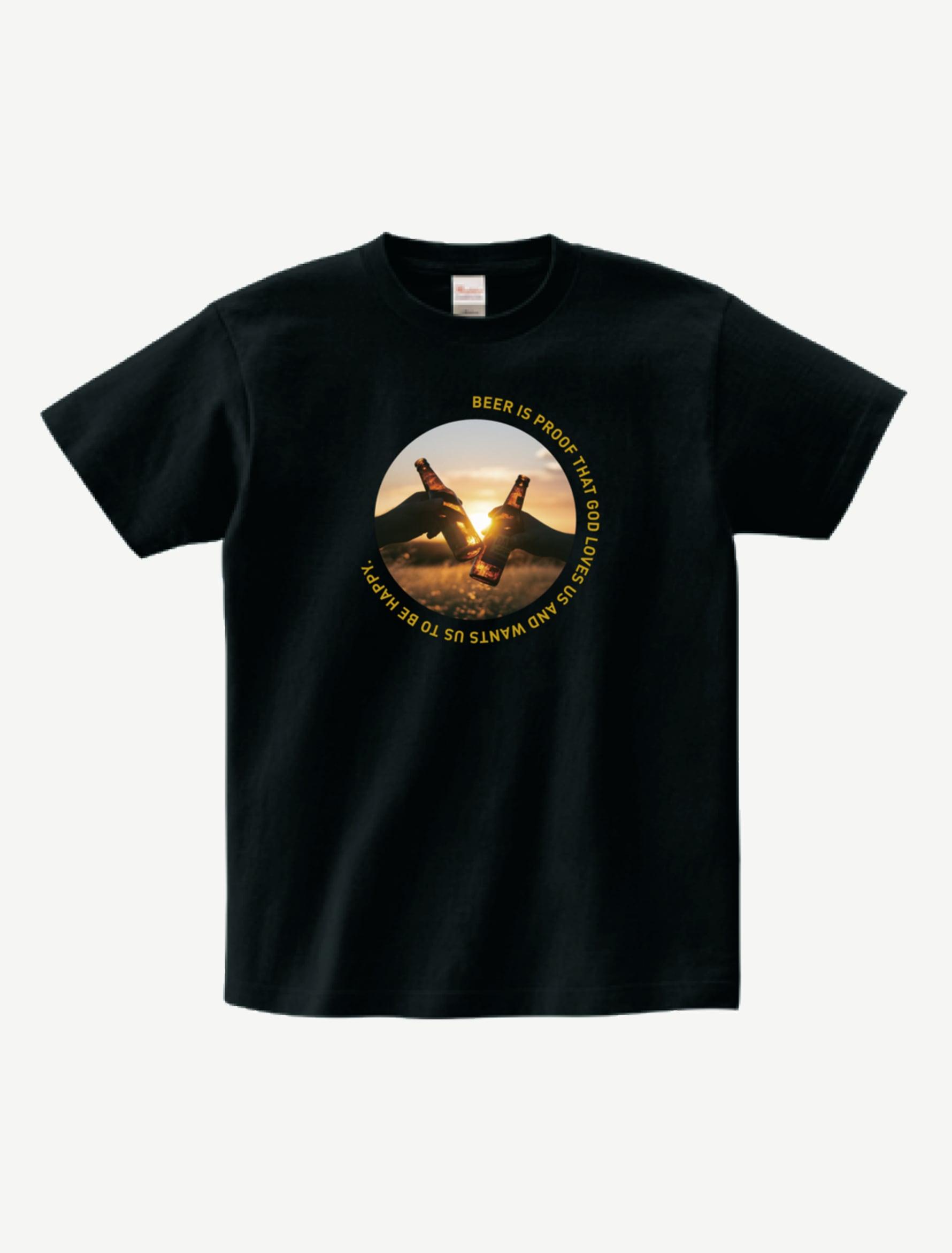 BEER IS PROOF TシャツBP0001BK