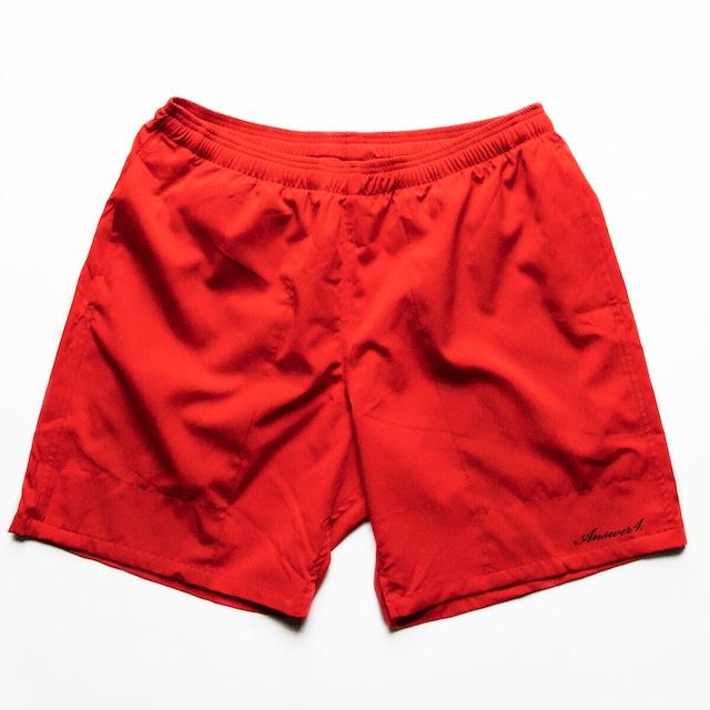【Answer4】 3Pocket Short Pants (Red)