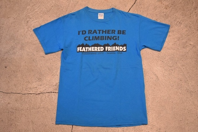 USED Feathered Friends T-shirt -Medium 0921