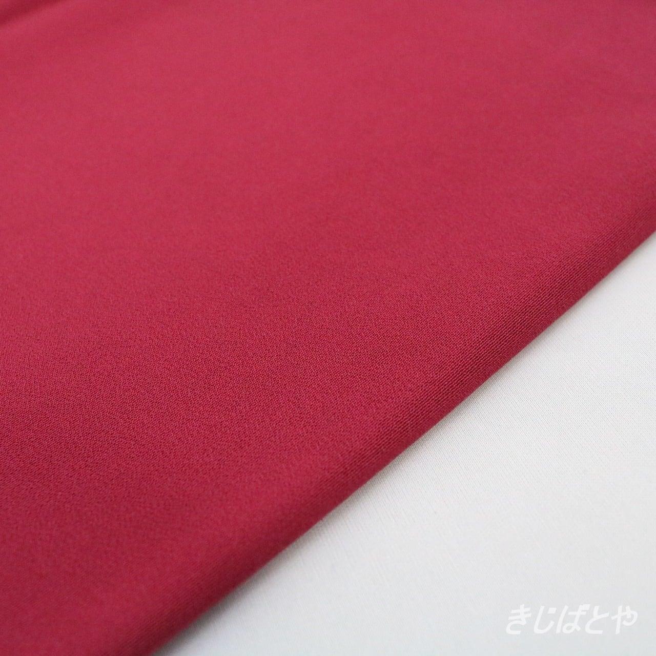 正絹はぎれ ラズベリー色の色無地から
