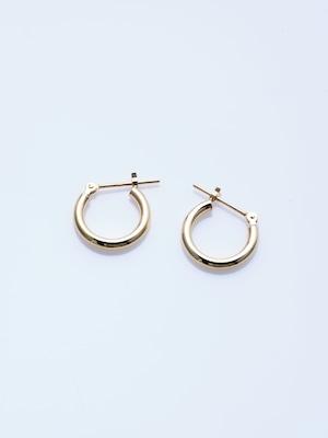 gold hoop pierce S (CAAC-P009)