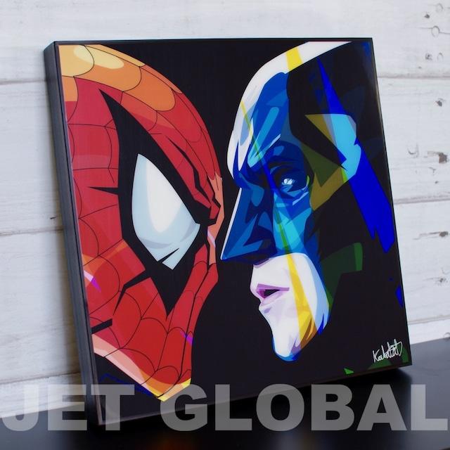 バットマン スパイダーマン/ BATMAN & SPIDERMAN / Lサイズ 52cm / PAPDC_0024