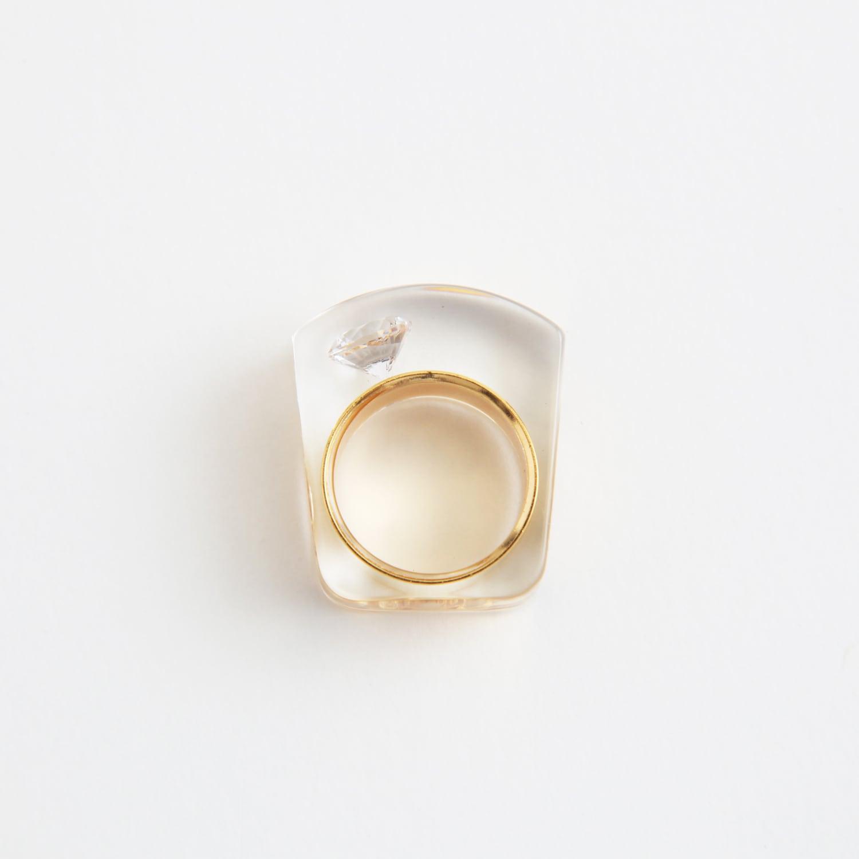 JUTIQU/Glam Ring 1 _gold