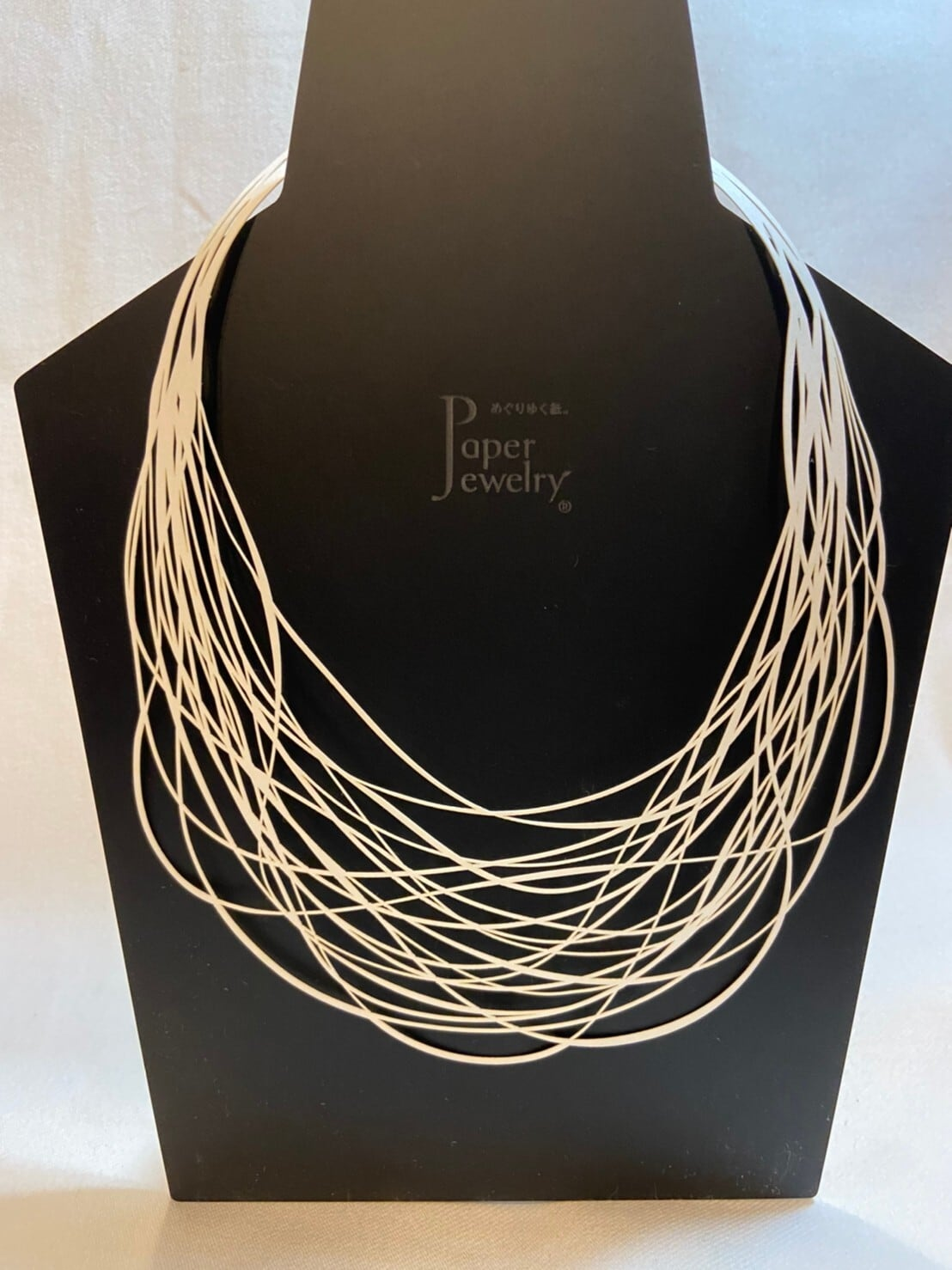 【Paper Jewely】ネックレス/レイヤー