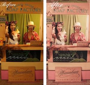 【Antique rose アンティークローズ】おしゃれ 写真加工フィルター Lightroomプリセット