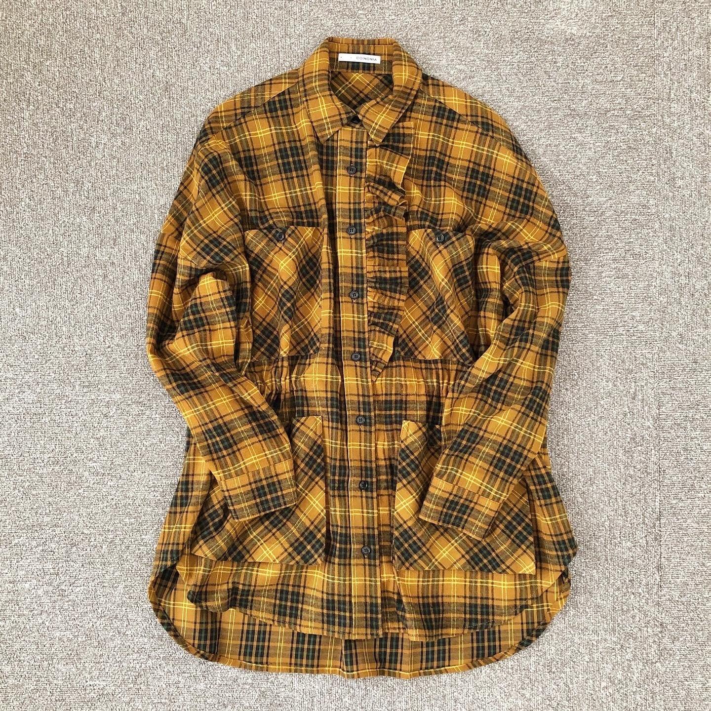 ruffled shirt / COINONIA【MA】
