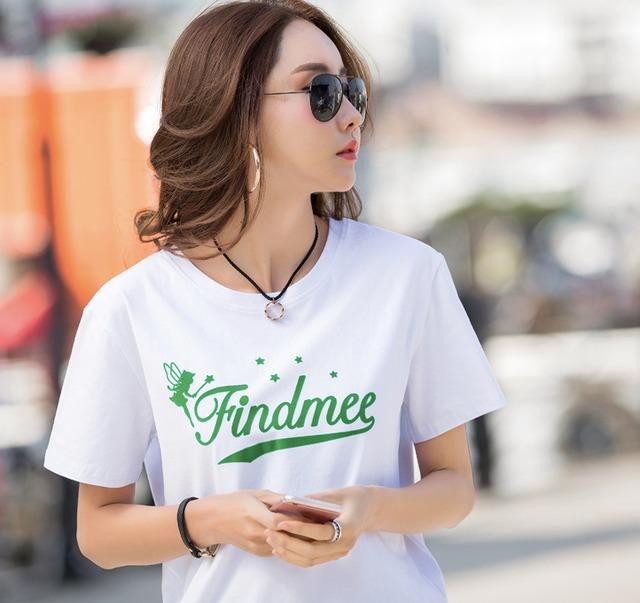 【ホワイト・ブラック 即納品可能】ラフ可愛い大人ロゴTシャツ★全3色_2020S/S