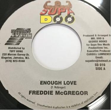 Freddie McGregor (フレディーマクレガー) - Enough Love【7'】