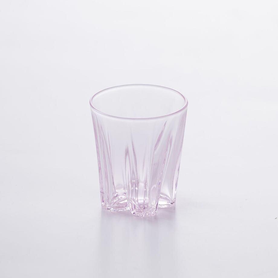SAKURASAKU glass (サクラサクグラス) Sake(サケ) 【ピンク】単品 木箱入り