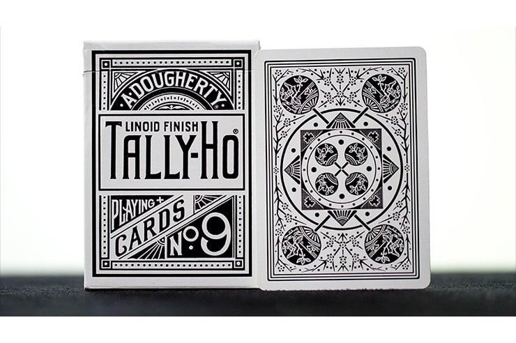 White Tally-Ho (Fan Back)