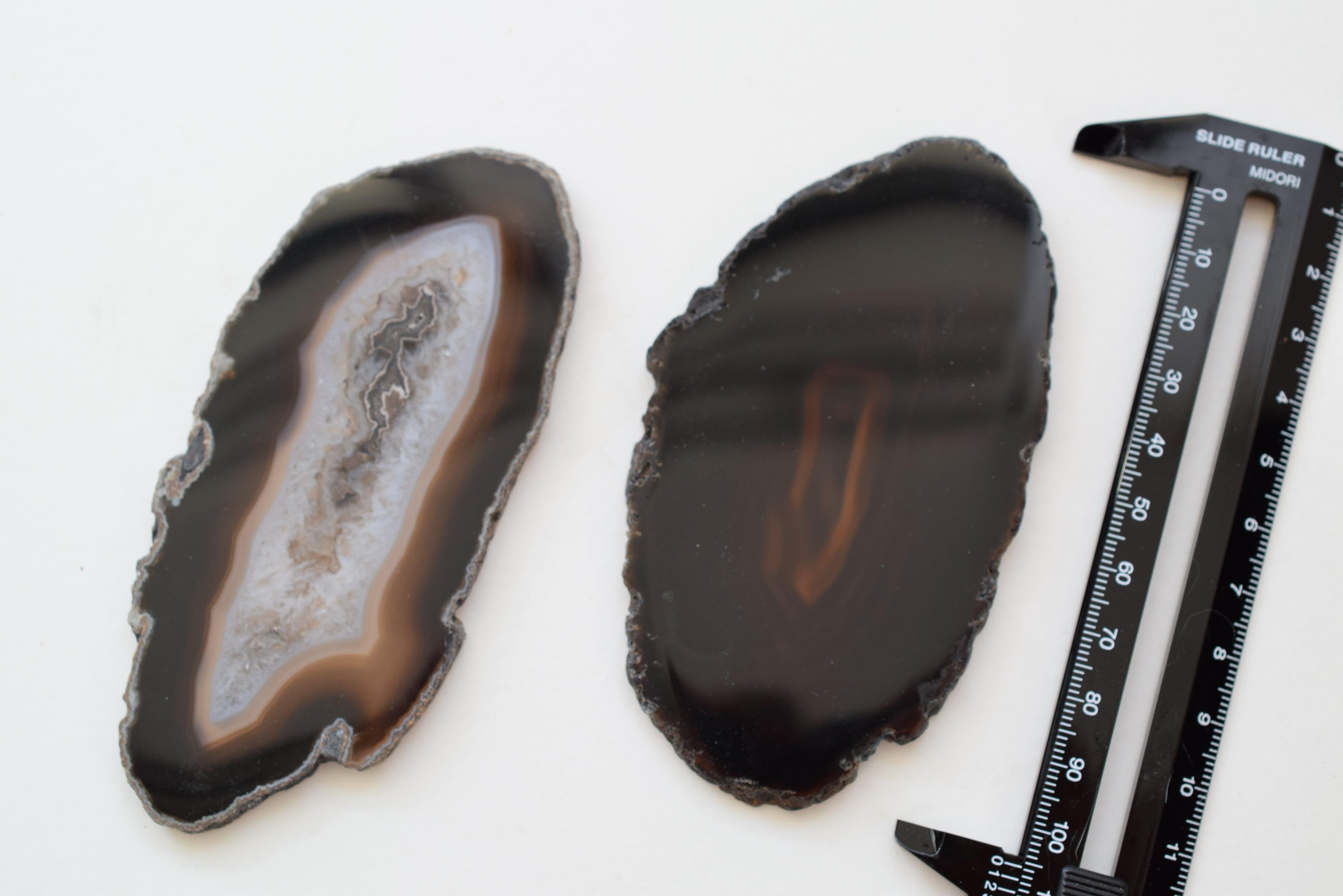 Big Size Agate slice  -Black-/ビッグサイズ アゲートスライス ブラック