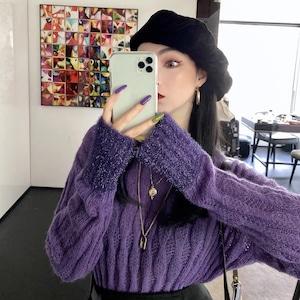 arm color knit