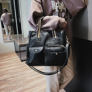 3色/2wayアウトポケットバッグ ・17823