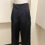 【RehersalL】twill gurkha pants (black)/【リハーズオール】ツイルグルカパンツ(ブラック)