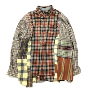 REMAKE  SHIRTS リメイクチェックシャツ【Shirts49】