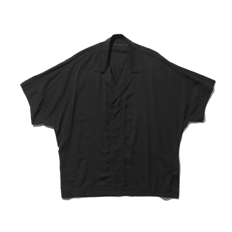 747SHM1-BLACK / カイトシャツ