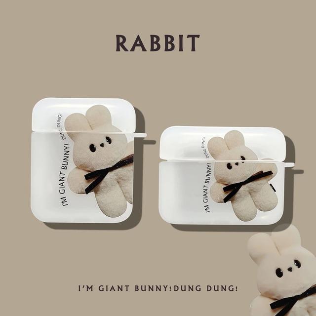 Cute Rabbit airpods case