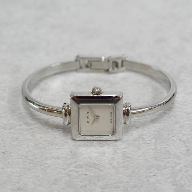 GUCCI グッチ 1900L SS クォーツ シルバー文字盤 腕時計 レディース