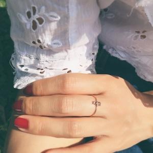 うさぎ ring ® K10 YellowGold #00801 うさぎリング/10金イエローゴールド