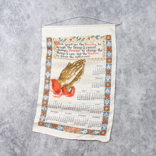 1970s   Vintage   Calendar
