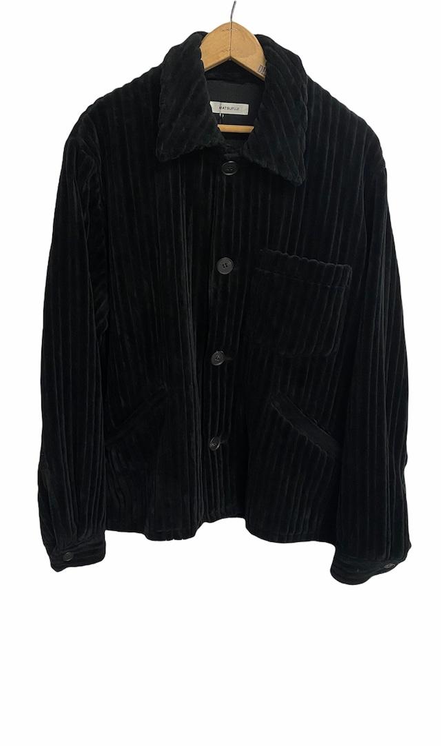 MATSUFUJI / Wide Corduroy Jacket(BLACK)