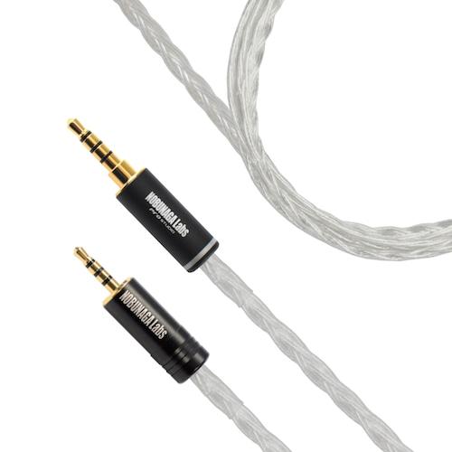 ヘッドホンケーブル 御手杵(おてぎね)NOBUNAGA Labs PREMIUM :: 2.5mm4極バランス出力対応ケーブル