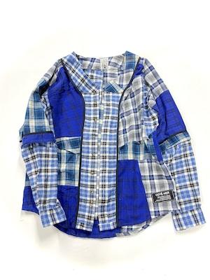 REMAKE   Baseball SHIRTS ネルシャツ【Shirts53】
