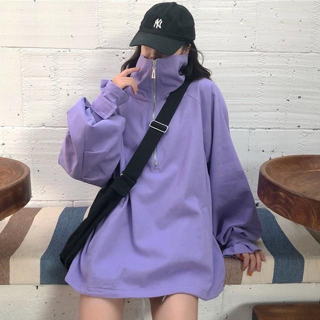 【トップス】韓国系シンプルファッション長袖パーカー42912889