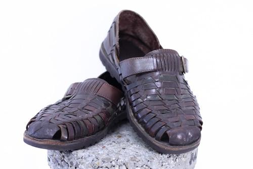 90's lether sandal