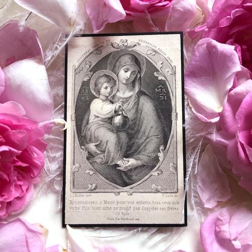 聖母子のデスカード