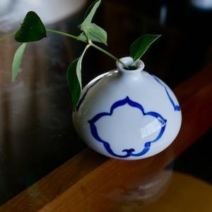 【31006】伊万里 花入れ / Kutani  Pot / Vase