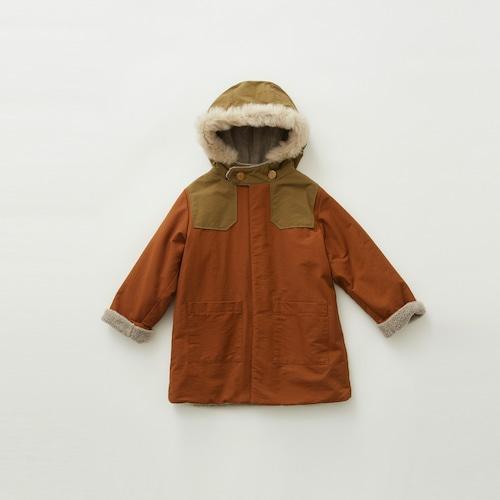 《eLfinFolk 2019AW》high lander coat / brown / 140-150cm
