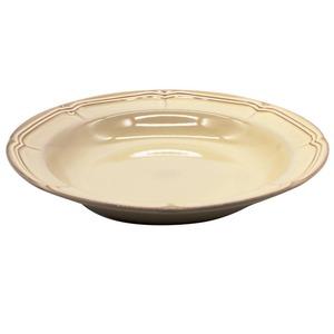 Koyo ラフィネ パスタ ボウル 皿 約26cm シナモンベージュ 15922010