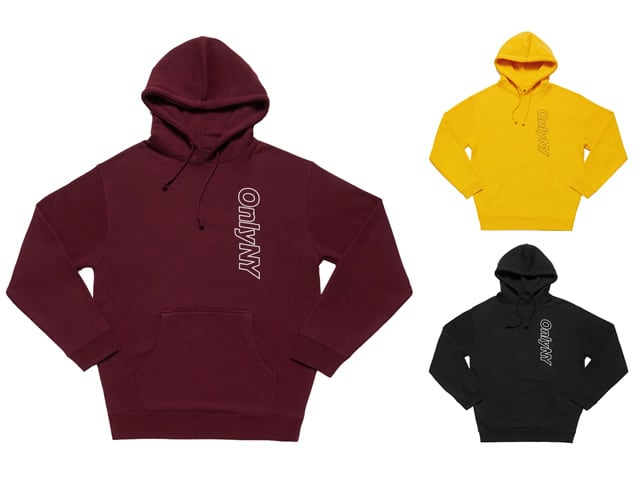 ONLY NY Outline Logo Hoodie