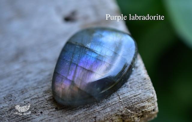 虹色の輝き★パープルラブラドライト ルース labb063