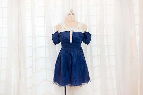 悪魔の翼ワンピース Little Devil Dress with detachable wings