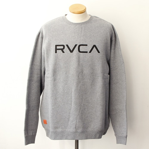 【RVCA】BIG RVCA CREW (GREY)
