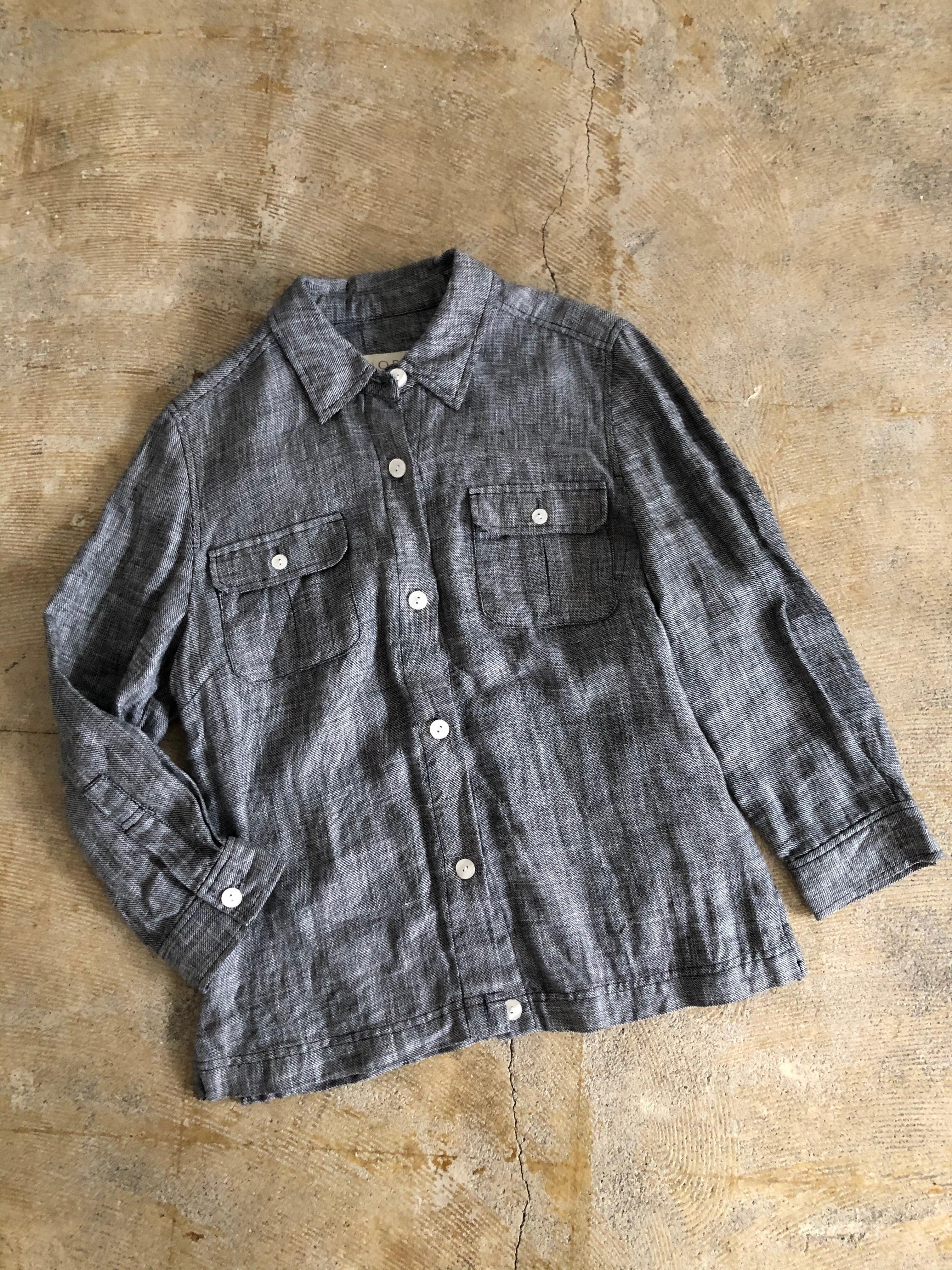 1990 NORTON linen shirt