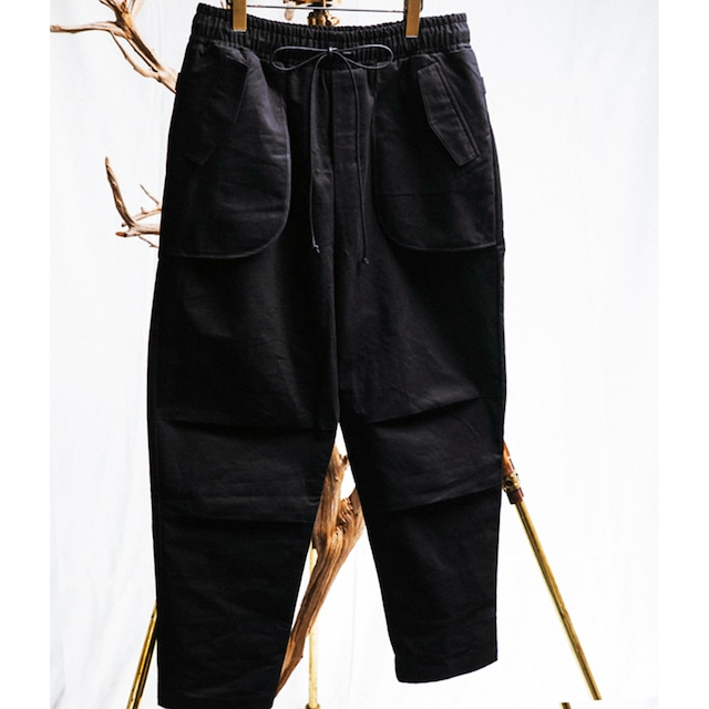 JOE CHIA - Mens woven inverted pocket pants - PA04