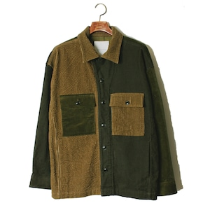 Double Lapel Shirt JKT -olive <LSD-AI3S2>