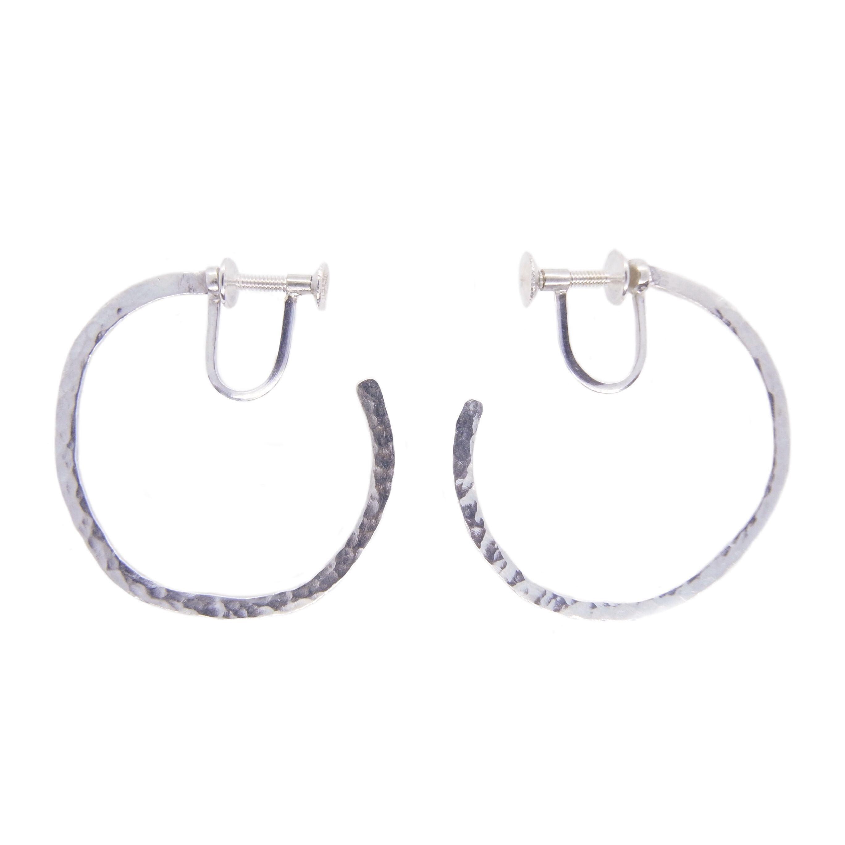 Leopard hoop earrings