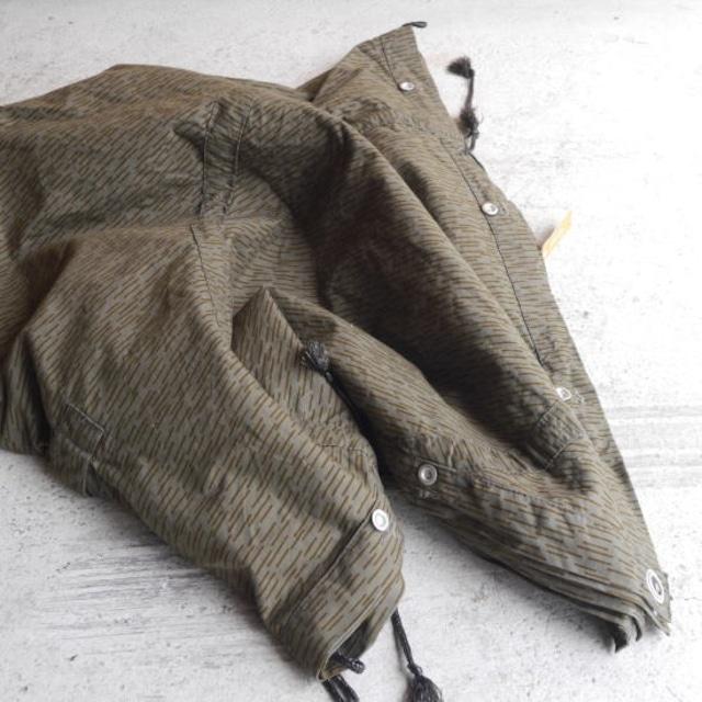 東ドイツ軍 テントシート カモフラ