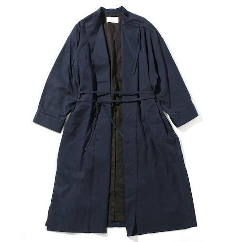SMOCK DRESS COAT [ NAVY ]