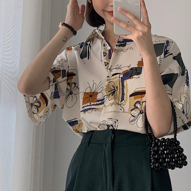 Retro design shirt KRE946
