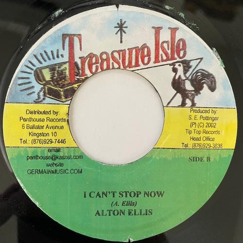 Alton Ellis - I Can't Stand It【7-20733】