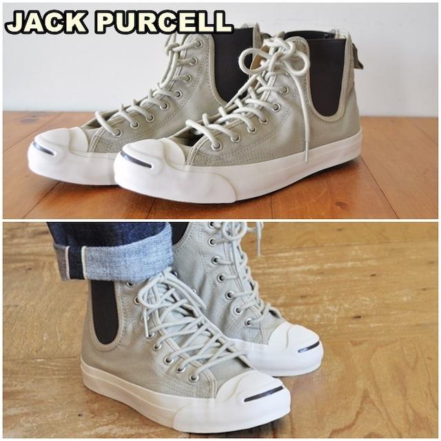 converse コンバース ジャックパーセル サイドゴアスニーカー JACK PURCELL SIDEGORE RH HI ジャックパーセルサイドゴア