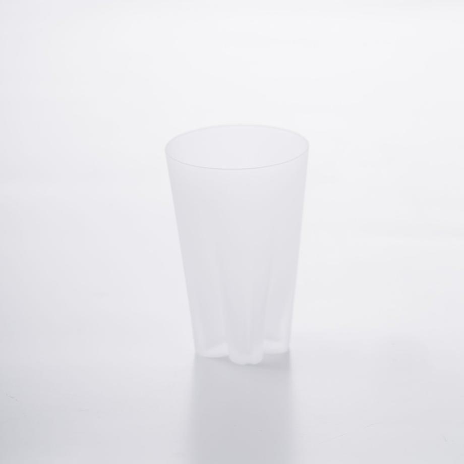 SAKURASAKU glass (サクラサクグラス) Frost Tumbler(タンブラー)【雪桜・クリア】単品 木箱入り